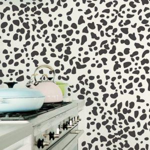 dalmation print wall decals