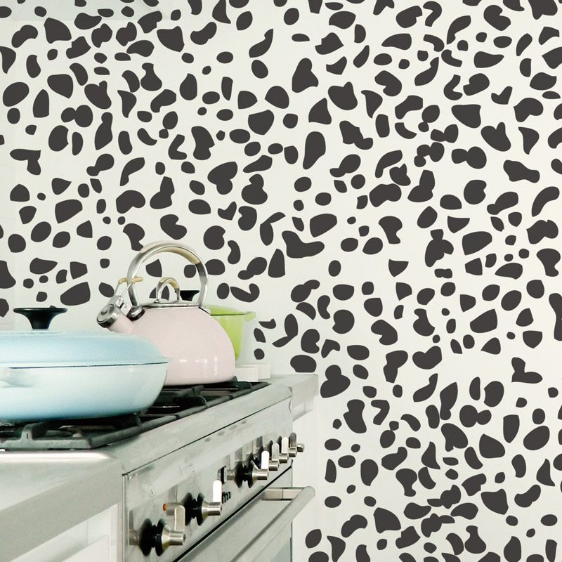 dalmation print wall decals
