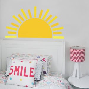 sun wall decal