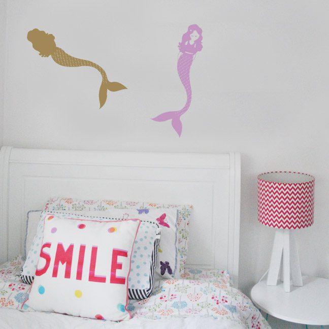 little-mermaid-wall-decal