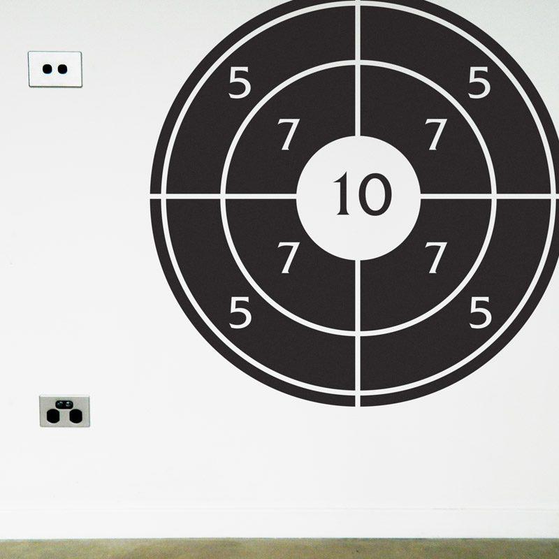 handball target wall sticker
