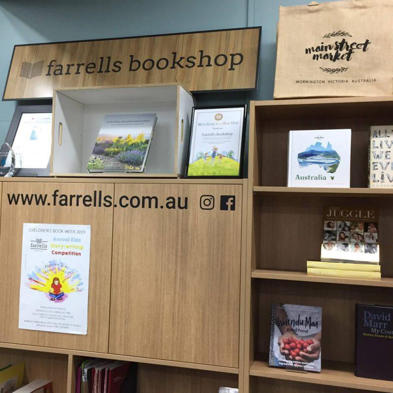 book shop social decal