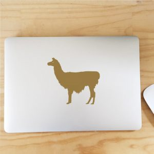 llama laptop decal