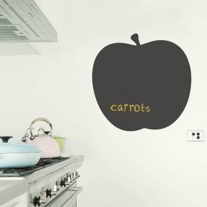 apple removable chalkboard decal