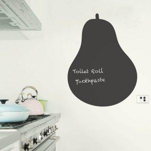 pear blackboard removable wall decal