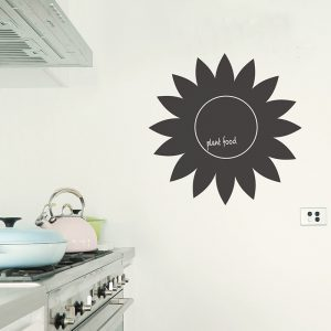 sunflower blackboard decal