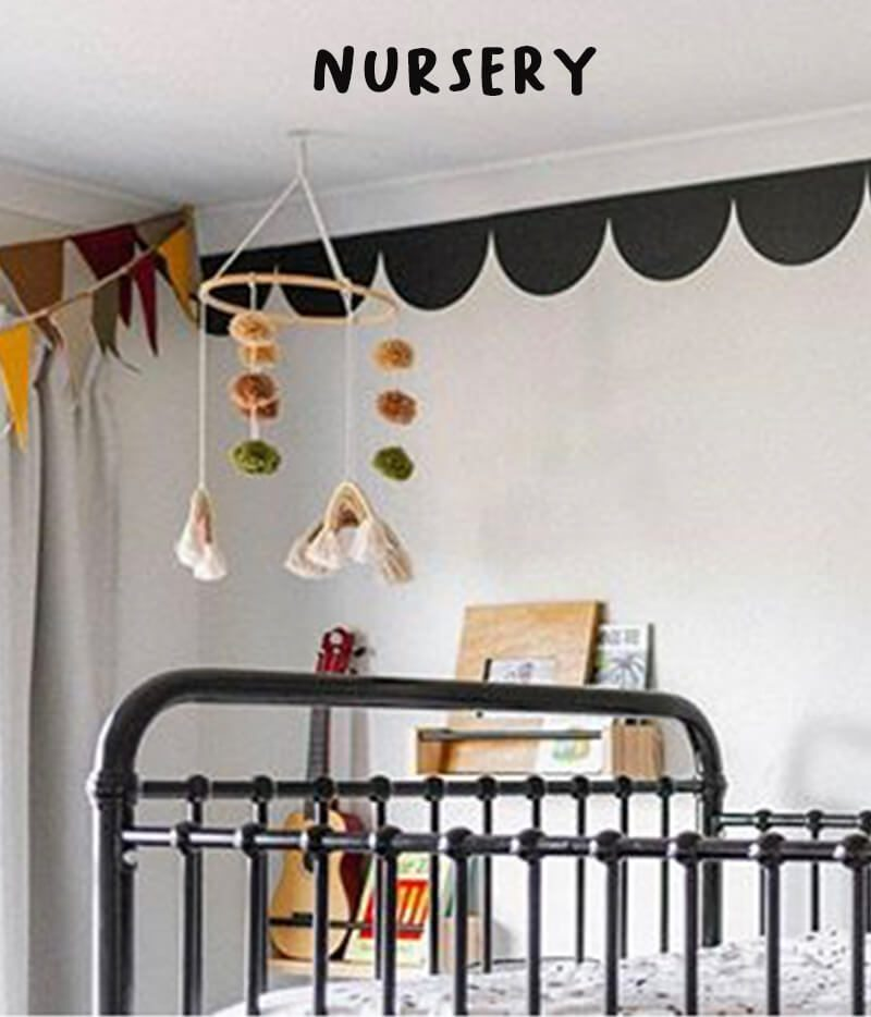 removable nursery wall decals