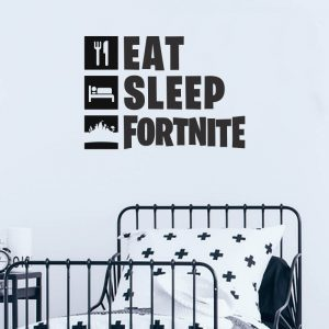 Fortnite Eat Sleep Decal
