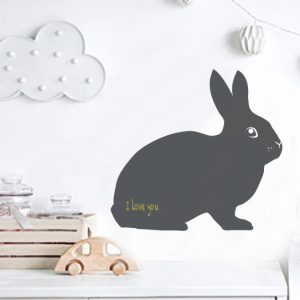 Easter Bunny Chalkboard wall decal